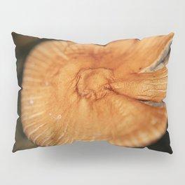 Orange Mushroom Pillow Sham