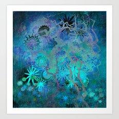 mysterious garden Art Print