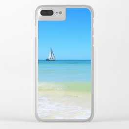 Sail Away Clear iPhone Case