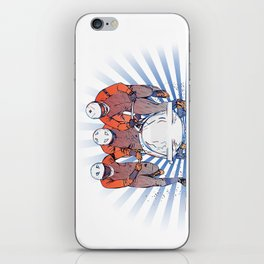 Cool Runnings - Bobsleigh 4 men team iPhone Skin