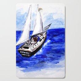 Sailing Away Cutting Board
