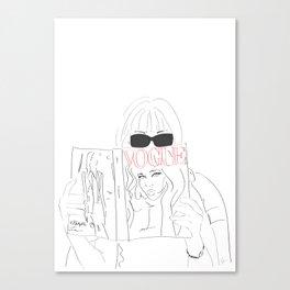 Voguestagram Anna Wintour Canvas Print