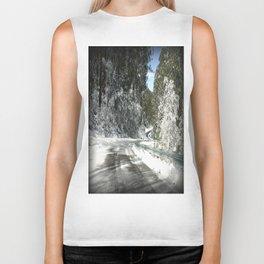 Winding road down Mt.Baw Baw Biker Tank