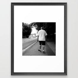 Ink Legs Framed Art Print