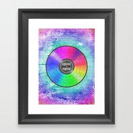 music unites Framed Art Print