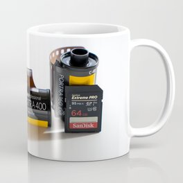 Film vs Sd Card Coffee Mug