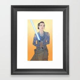 Rey Framed Art Print
