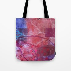 Rouge abstract Tote Bag