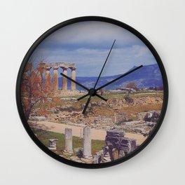 Ancient Corinth Wall Clock