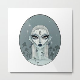 Necromancy Metal Print