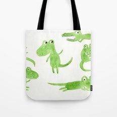 Alligator 2 Tote Bag