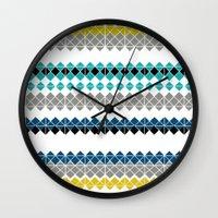 golf Wall Clocks featuring Golf by Simi Design