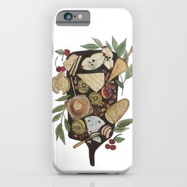 Cheese + Fruit Board iPhone Case