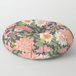 Secret Garden Floor Pillow