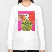 muppets Long Sleeve T-shirts featuring The Muppets - Bunsen and Beaker by Kristin Frenzel