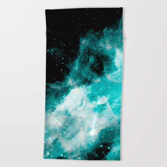 Wonderful Space Beach Towel