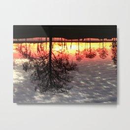 Grey Lake  Metal Print