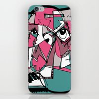 sneaker iPhone & iPod Skins featuring Sneaker Guy by 5wingerone