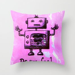 Do You Feel It? Throw Pillow