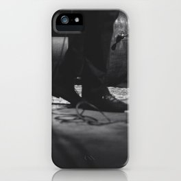 on stage iPhone Case