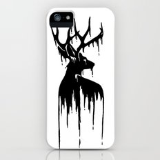 Painted Stag V.2 iPhone (5, 5s) Slim Case