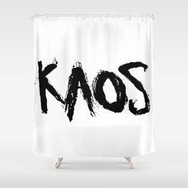 KAOS. Shower Curtain