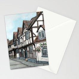 Mill Street South, Warwick U.K. Stationery Cards