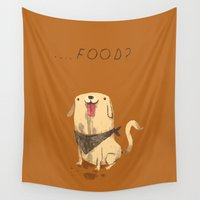 food Wall Tapestries featuring food? by Louis Roskosch