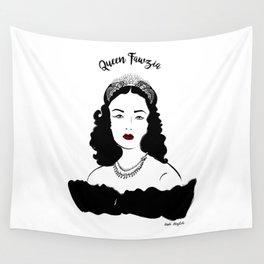 Queen Fawzia Wall Tapestry