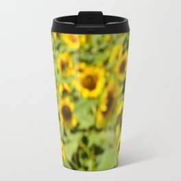 Summer Sunflower Love II Travel Mug