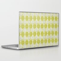 sweater Laptop & iPad Skins featuring snowflake sweater by ottomanbrim