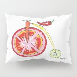 Veggie Bike Pillow Sham