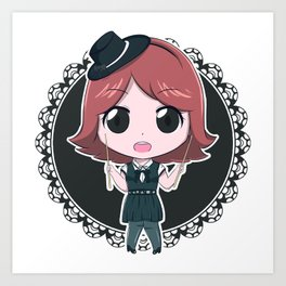 Mini Art Print Band-Maid just bring it Akane Art Print