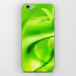 Emerald Dreams iPhone Skin