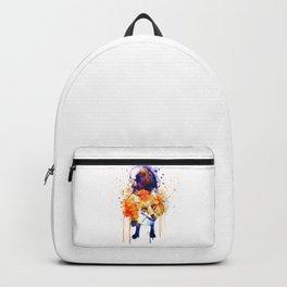 Cute Happy Fox Backpack