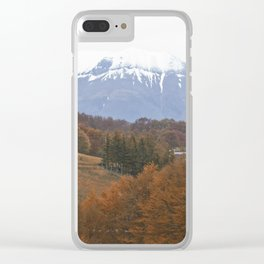 Atumn has come Clear iPhone Case