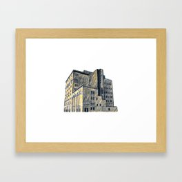 DOW BREWERY Framed Art Print