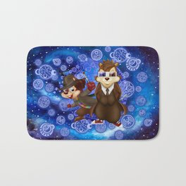 funny cute 10th and 4th Doctor squirrel iPhone 4 4s 5 5c 6, pillow case, mugs and tshirt Bath Mat