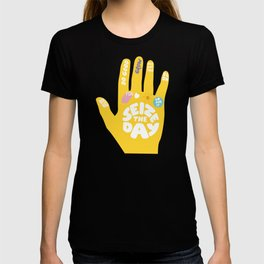 Seize the day – Sunshine hand T-shirt