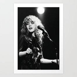 Stevie Nicks Music Poster Art Print