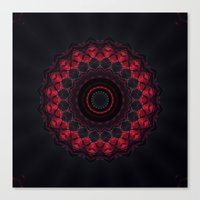 skyfall Canvas Prints featuring Skyfall by Mr. Pattern Man