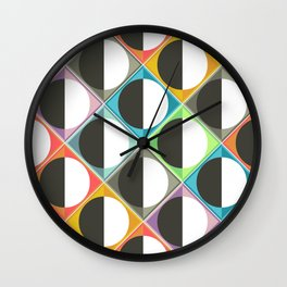 eclipse diamonds Wall Clock
