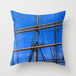 An Ordered Chaos Throw Pillow