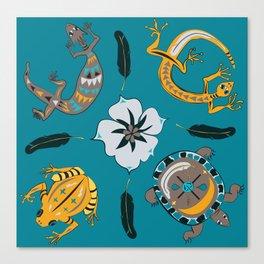 Southwestern Creatures Canvas Print