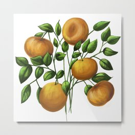 Bouquet of tangerine Metal Print