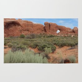 Vertical Arches National Park Rug