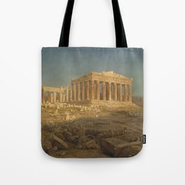 The Parthenon by Frederic Edwin Church Tote Bag