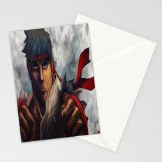 Ryu Focused  Stationery Cards