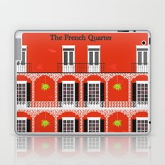 The French Quarter  New Orleans Laptop & iPad Skin