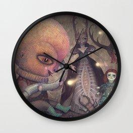 Welcoming the Omniscient Ones Wall Clock